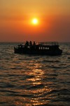 Sunset cruise at Kumarakom Backwaters