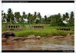 Hampi Ruins as Seen Across Tungabhadra River